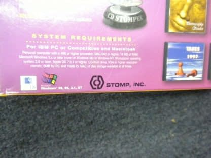 Vintage CD STOMPER PRO CD LABELING SYSTEM Win 95 98 31 NT 264352239627 9