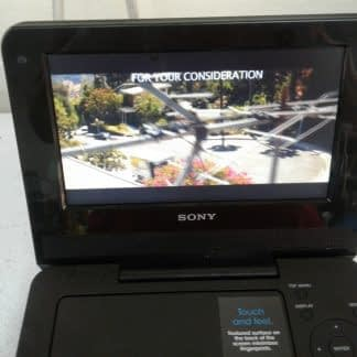 Sony DVP FX730 Portable DVD Player 7 with wall chargercar charger Works great 274490405411