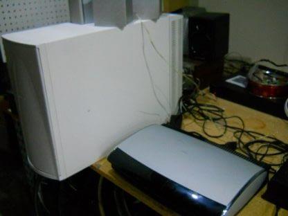 Bose AV28 DVD Player PS48 Powered White Subwoofer Sony Speakers Cables 264716940203 5
