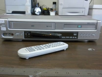 Go Video DV2150 DVD VCR Combo VHS Player Dual Deck with Remote Good condition 264580448041 2