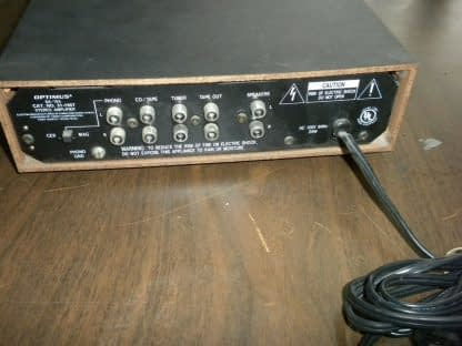 OPTIMUS MODEL SA 155 INTEGRATED STEREO AMPLIFIER USED 264261046657 4