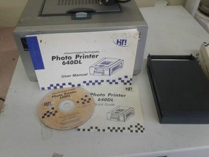 HiTi Hi Touch 640DL Dye Sub Printer 9 boxes paper 6 boxes cleaner Paper Jam 274689783957 12