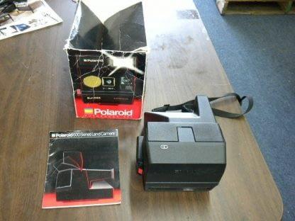 Polaroid Land Camera Sun 660 Instant Autofocus With Flash Box Manual 273468804375 3