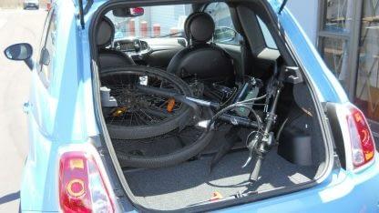 Folding Electric Mountain Bike ebike Men Women Full Suspension 264297090909 5