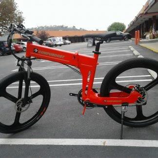 Folding Electric ebike Bike Commute City Road and Off Road Men Women 60mi Range 264298338536