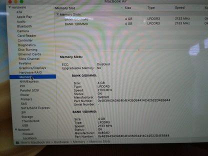 Apple Macbook air works great 274654483719 4