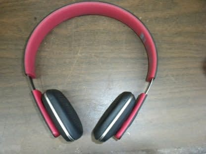 Royal HQS10 Red Bluetooth Headphones Works great 264609041684 11
