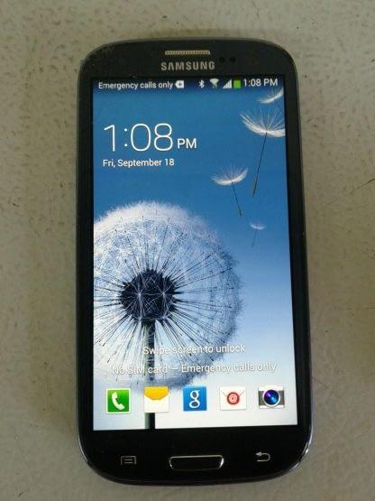 Samsung Galaxy S III SGH I747 16GB Pebble Blue ATT Cricket Android READ 264869995629 2