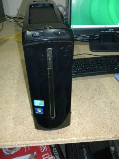 Gateway SX2802 slim PC Multimedia machine Windows 10 Runs Great Clean 274135231315 2