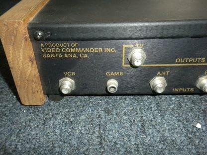 Vintage Electronics Video Commander model 26 home video system 273747967393 4