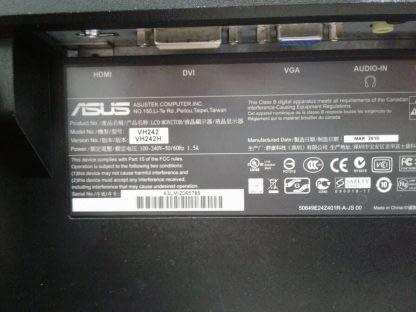 ASUS VH242H LCD Monitor DVI VGA HDMI Works GREAT 274441053450 2