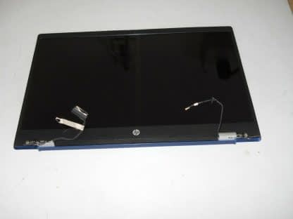HP Pavilion 15 CS 156 HD display complete assembly BLUE Repaired Works good 274402403929 2