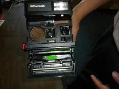 Polaroid Land Camera Sun 660 Instant Autofocus With Flash Box Manual 273468804375 5