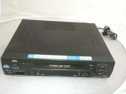 JVC HR DD750U VHS Hi Fi VCR Player Recorder Works Great 273925364901 2