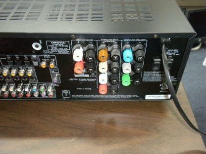 Onkyo TX SR602 71 Channel 85w x7 600W Home Theater AV Receiver Works Great 264594046348 2