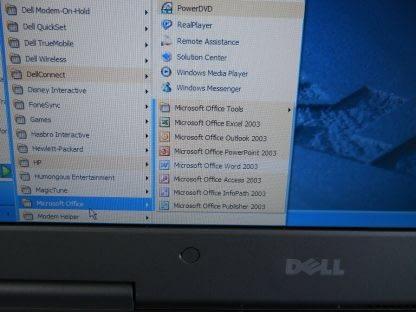 Vintage Dell Inspiron 8500 Excellent Clean All original Windows XP 274360183422 7