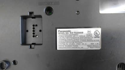 Panasonic KX TG2000B 24 GHz 2 Lines Corded Phone Base Station Good con 273506059217 3