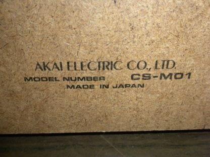 Akai CS M01A Dolby Cassette Deck Super Clean Needs Belt 273746090111 9