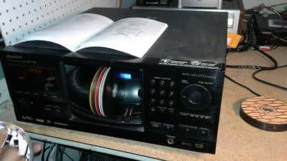 Pioneer PV F727 CD File 301 CD DVD Changer Player No Remote Works Great 264964557325 3