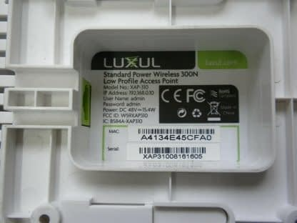 Luxul Wireless Low Profile AP XAP 310 Access Point Works Great with injector 274147837088 2
