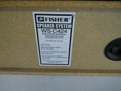 Vintage Fisher Surround sound satellite speakers 3 pcs 274417369509 8