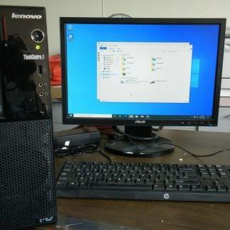 Lenovo ThinkCentre Edge 72 Computer PC Windows 10 Pro Good Condition 274219167257