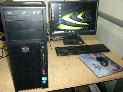 HP Z200 Cad Workstation Intel CPU Nvidia Quadro Video Runs Great 264607168586
