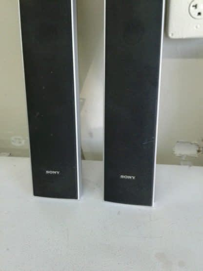2 SONY SS TS73 Tower Speakers RIGHT LEFT works great 274571009887 3