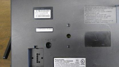 Panasonic KX TG2000B 24 GHz 2 Lines Corded Phone Base Station Good con 273506059217 4