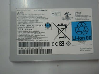 Genuine Original fujitsu Q550 battery New old stock 273732597637 2