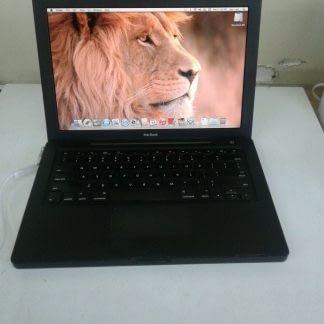 Vintage Apple MacBook 13 A1181 Black Works great 264899590048