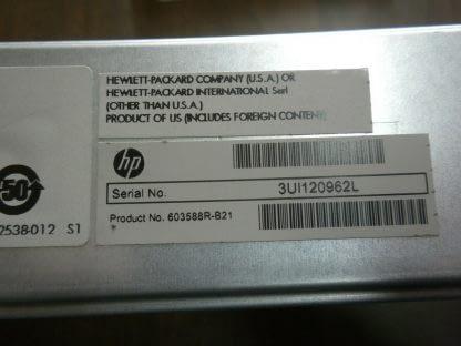 HP BL460c G7 Blade Server Dual Xeon 5620 24 Quad CPU 96GB RAM No HD 273979036378 6