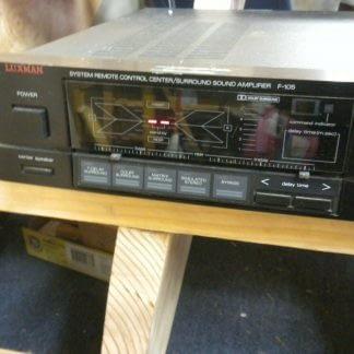 Vintage Luxman F 105 Stereo Surround Amplifier All original works great 274223911583