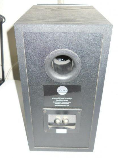 ATHENA TECHNOLOGIES AS B1 1 AUDITION SERIES Audiophile Bookshelf Speaker Pair 274417372934 10