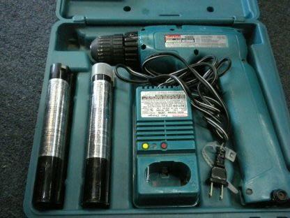 MAKITA Vintage 6095D DC96V Cordless Drill 2 BatteriesChargerCase 273866572997 2