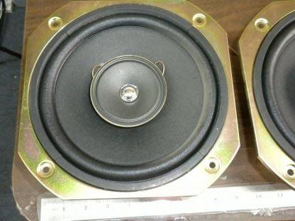 Pair SONY 40 Watt 8 Ohm 8 Diameter Full Range Speakers 1 544 014 11 274129145584 6