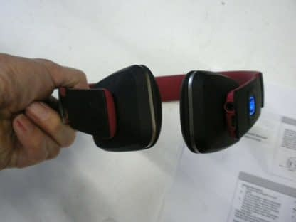 Royal HQS10 Red Bluetooth Headphones Works great 264609041684 9