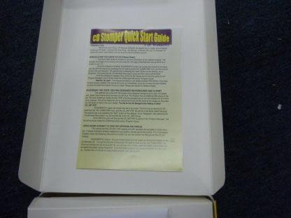 Vintage CD STOMPER PRO CD LABELING SYSTEM Win 95 98 31 NT 264352239627 5