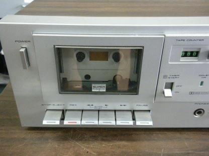 Akai CS M01A Dolby Cassette Deck Super Clean Needs Belt 273746090111 3