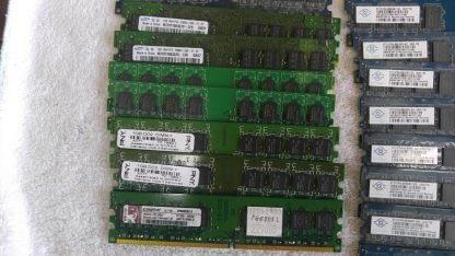 Lot of 19 1GB DDR2 Desktop RAM Memory DDR2 PC2 5300 PC2 6400 Non ECC 263959681933 3