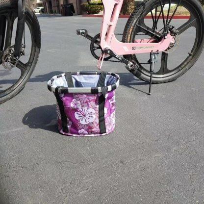 Bicycle Front Basket Removable Waterproof Bike Handlebar Basket Pet Carrier Fast 264768291585 2