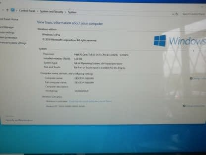 Dell OptiPlex 3010 Intel Core i5 3470 320GHz 4GB DDR3 250GB WIN10 PRO 264489120144 3