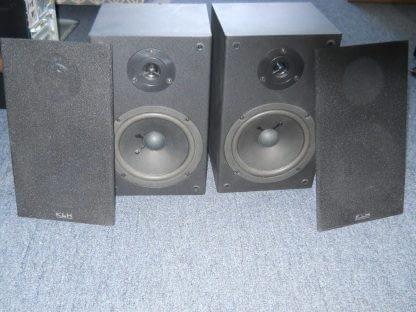 KLH L652B 100W Bookshelf Speakers Pair 264580448056 2