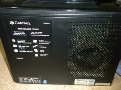 Gateway SX2802 slim PC Multimedia machine Windows 10 Runs Great Clean 274135231315 11