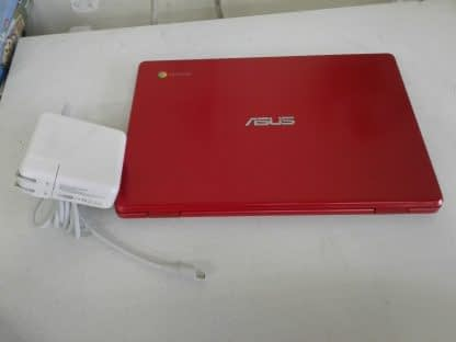 Asus C223N Chromebook Red Good condition 264849749789 10