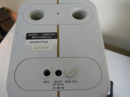Classic Vintage ALTEC LANSING MULTIMEDIA PC Subwoofer Speakers Complete 274369652660 7