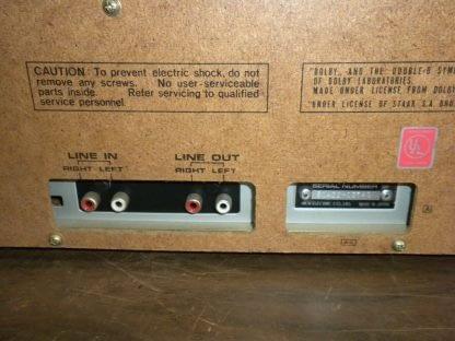 Akai CS M01A Dolby Cassette Deck Super Clean Needs Belt 273746090111 10