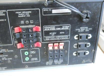 Vintage KENWOOD KR V8030 Audio Video Receiver 274405645603 3