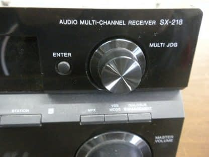 Pioneer Audio Multi Channel Receiver SX 218 Working Great 264580448052 3