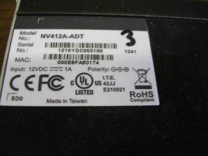 NV412A Network Video ServerEncoder Converter CCTV Camera Charger incl ADT 273949770122 5